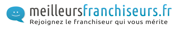 Logo meilleurs franchiseurs avec baseline